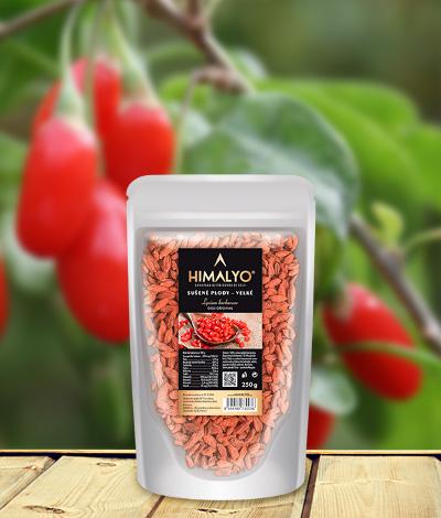 Himalyo Kustovnice čínská - sušené plody Goji velké Hmotnost: 250 g