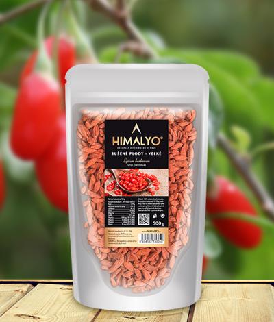 Himalyo Kustovnice čínská - sušené plody Goji velké Hmotnost: 500 g