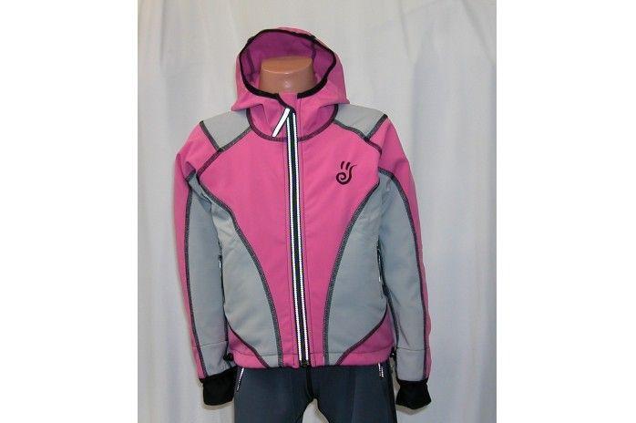 O.K. SPORT Dětská bunda SPIRIT volnějšího střihu s kapucí (2 barvy) Barva: Růžová, Velikost: 92
