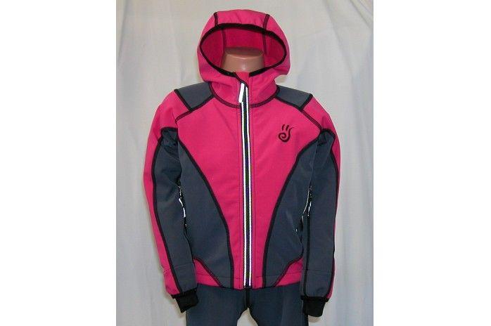 O.K. SPORT Dětská bunda SPIRIT volnějšího střihu s kapucí (2 barvy) Barva: Tyrkys, Velikost: 92
