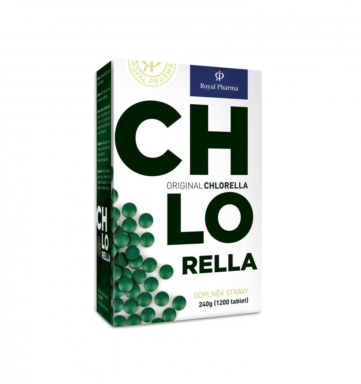 Chlorella Royal Pharma Počet tablet: 1200 tablet