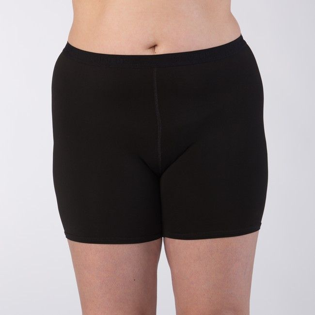 Silver+ Dámské boxerky s delší nohavičkou Barva: Černá, Velikost: S