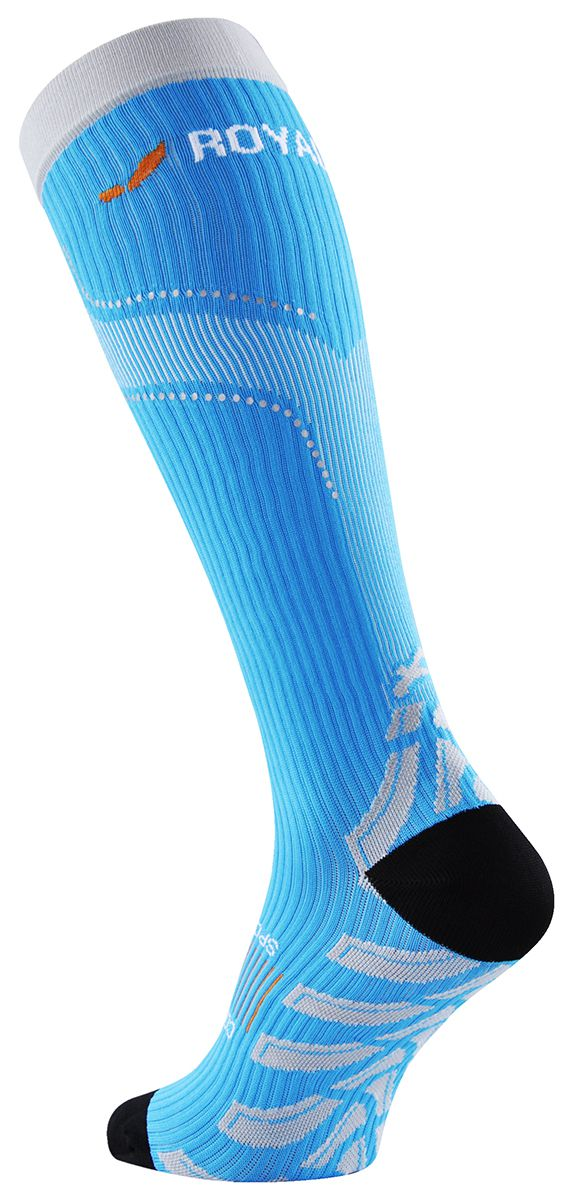 Aries Kompresní podkolenky ROYAL BAY Neon Barva: Modrá, Velikost: 42-44/C3