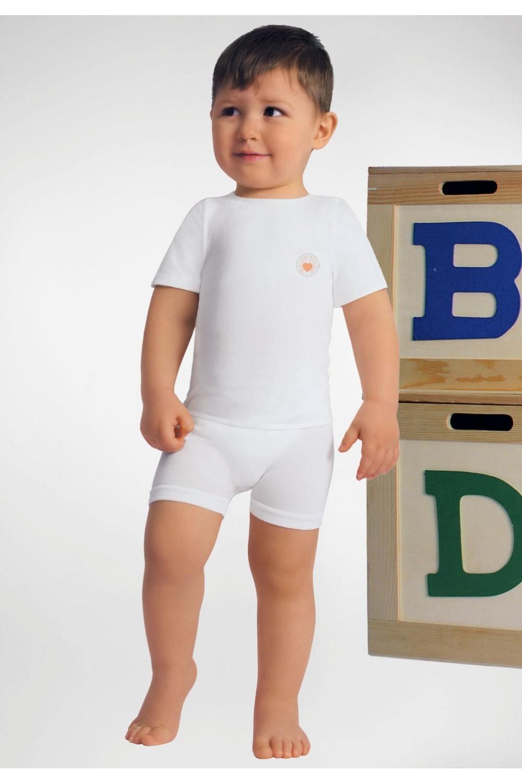 RelaxMaternity Baby Tričko s krátkým rukávem z Crabyon vlákna