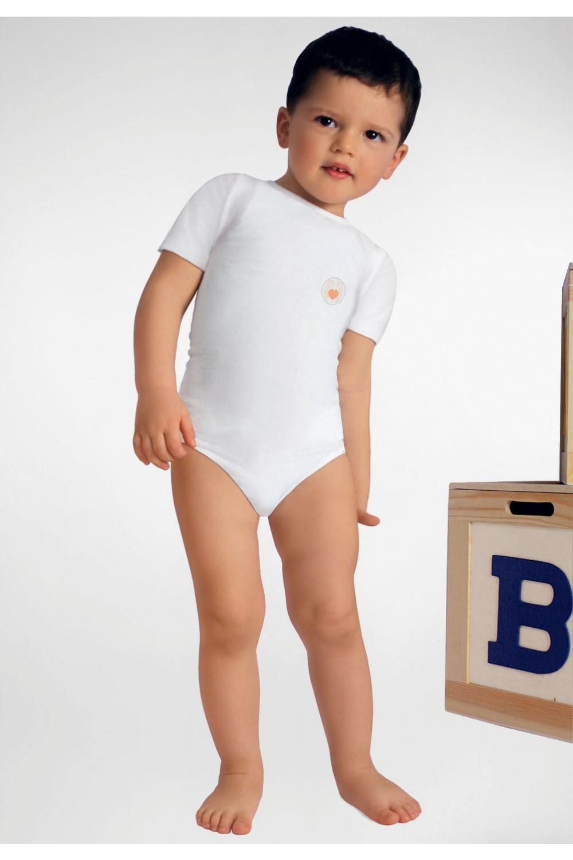 RelaxMaternity Baby Dětské body s rukávy z vlákna Crabyon