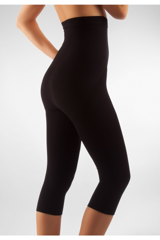 FarmaCell Masážní a zeštíhlující kalhotky pod kolena Fitness Barva: Černá, Velikost: XXL
