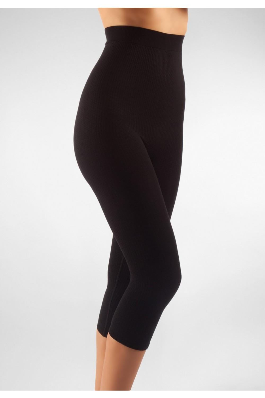 FarmaCell Masážní kalhotky pod kolena s vysokým pasem Barva: Černá, Velikost: L/XL